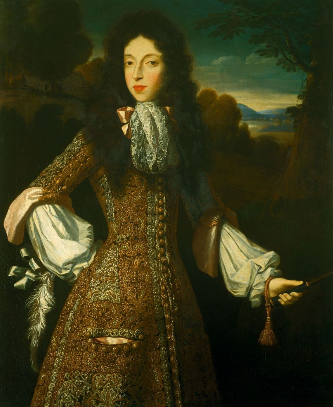Mary Duchess of modena wife of James II of england, 1675, Royal col, UK