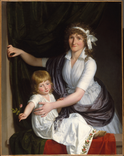 anon,woman e child,1795-8c,met NY