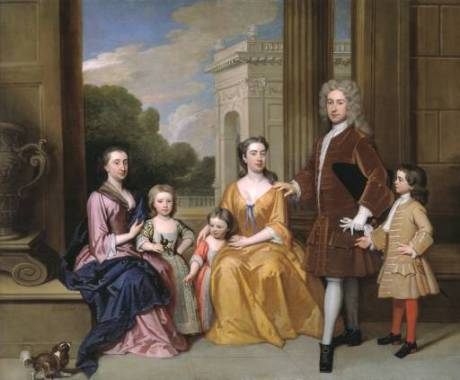 J.Kneller,Harvey family,1721,Tate