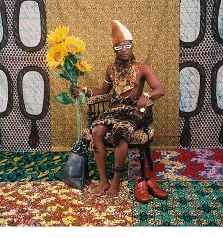 Samuel Fosso, le chef celui qui a vendu l'Afrique aux colons, selfportrait,1997, Magerorocca gallery milan