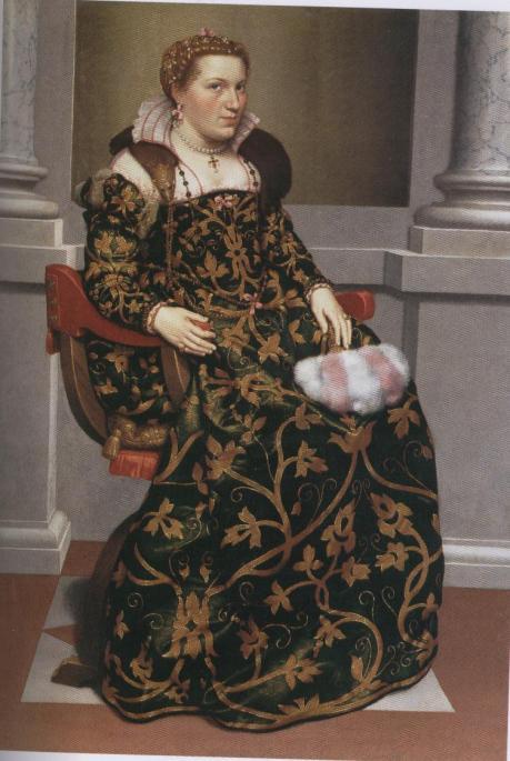 G.B.Moroni, Isotta Brembati 1552-53 (palazzo Moroni Bg)