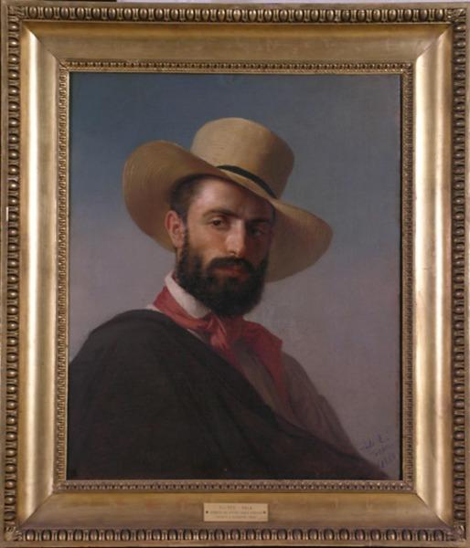 Eliseo Sala, pittore Carlo Silvestri,1850,GAM MI