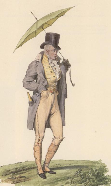 H.Vernet, Incroyable (parasole)1799-1815