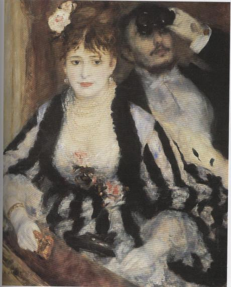 A.Renoir, Il palco, 1874, Court. gal lon