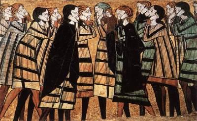 anon,tomba Don Sancho Saiz de Carillo,uomini,1300c,mus NAC Barcelona