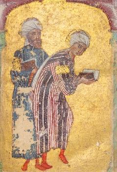 De materia medica, ill man, Jésireh, Iraq, 1229, bib topkapi sarayi Muzesi, istambul