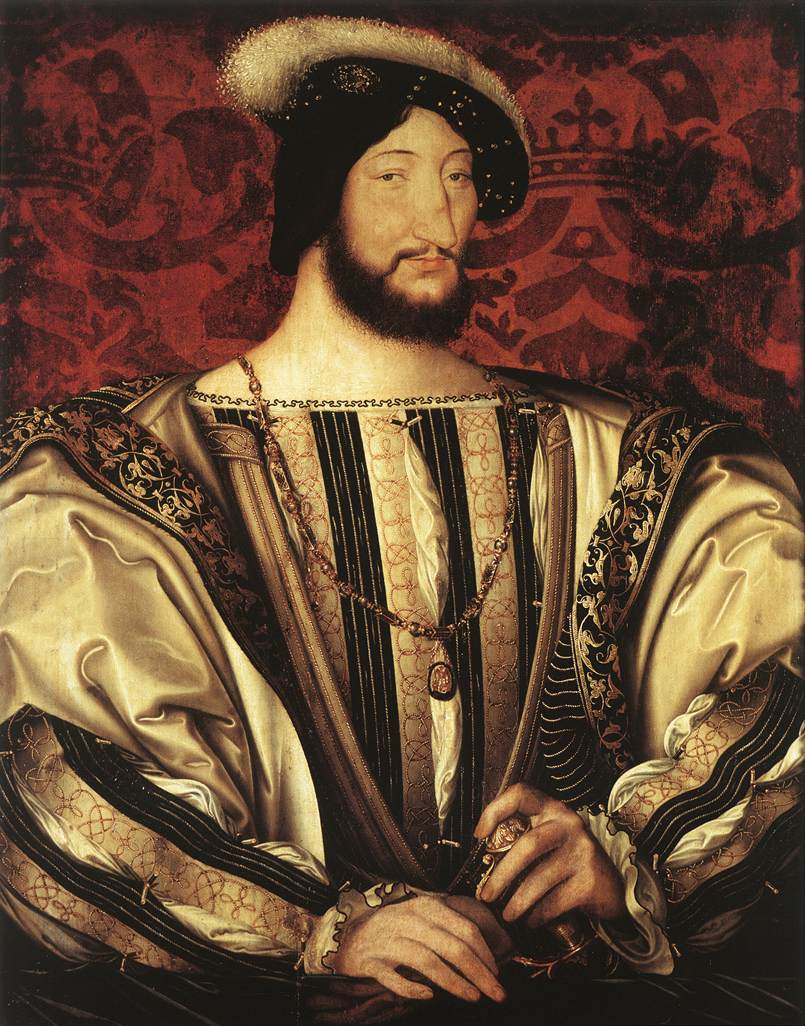 j.clouet,Francois I 1525-30