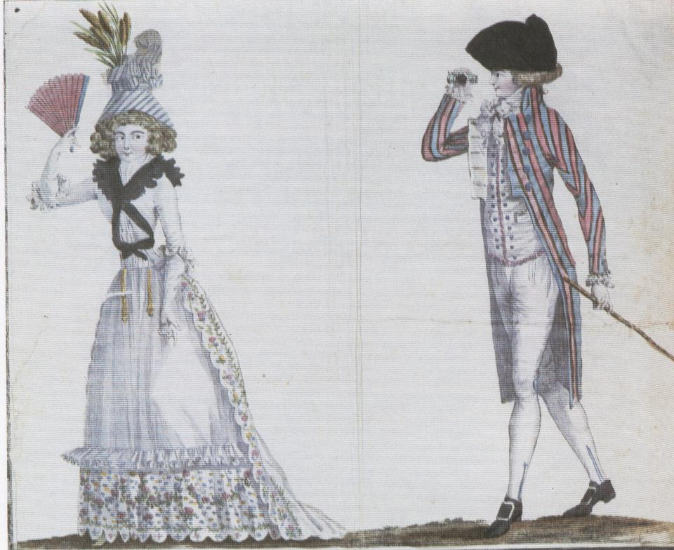 Moda all'inglese, Mag.des modes nouvelles 1789