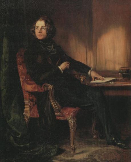 D.Maclise, Charles Dickens 1839 NPG lon