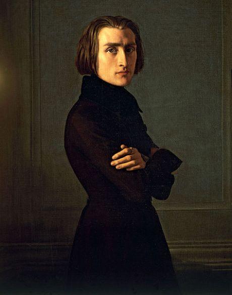 H.Lehmann, franz Liszt, 1839, musée Carnevalet Parigi