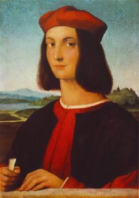 Raffaello, Pietro Bembo,1504,MFA Budapest