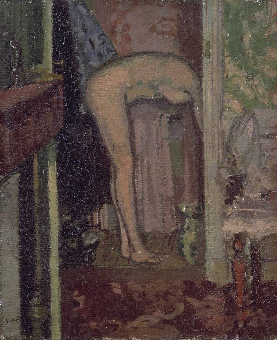 Woman Washing her Hair 1906 by Walter Richard Sickert 1860-1942
