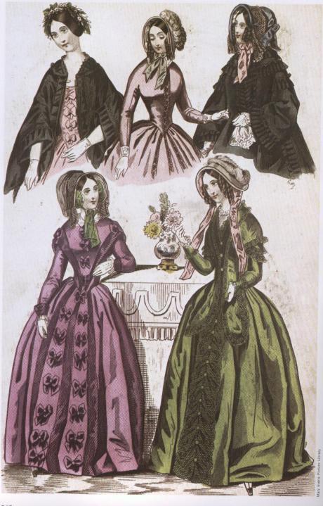 giornale moda 1840s
