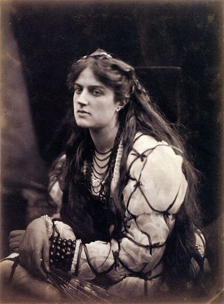 J.M.Cameron,foto Marie Spartali as Hypatia,1867