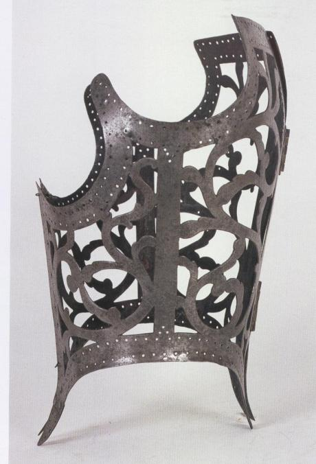corsetto metallo, lombardia 1560-80,MPP mi