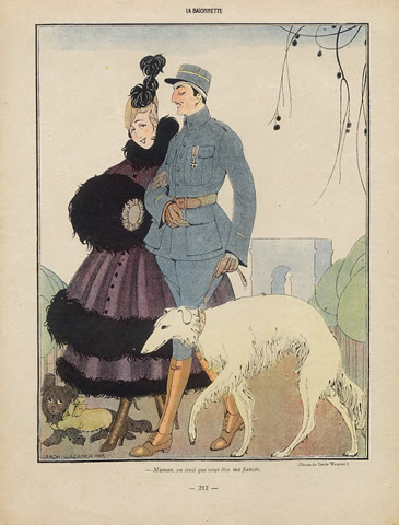 46593-gerda-wegener-1916-greyhound-sighthound-hprints-com