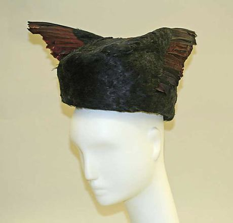 feather hat, 1915, Met NY