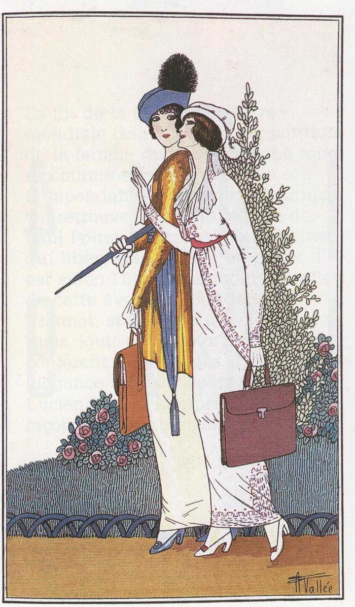 journal des dames et des modes, moda femminile,1913