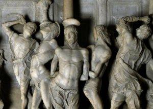 Amadeo Giovanni Antonio, formelle per l'arca dei martiri persiani, 1480-2c, duomo  Cremona ,part 2