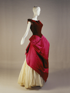 Charles James,evening dress,1949,Kent state uni usa