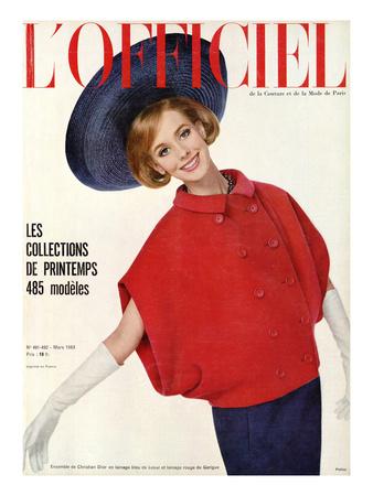 Philippe Poittier, L'Officiel, 1963, C.Dior