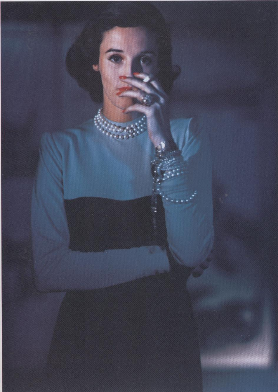 Horst P. Horst Vogue USA,fashion ed Babe Paley,1946