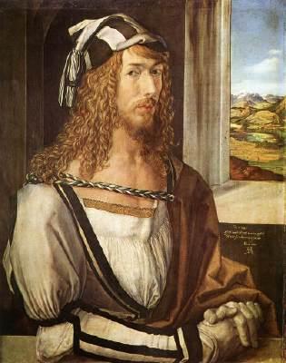 A.Durer,autoritratto a 26 anni,1498,prado