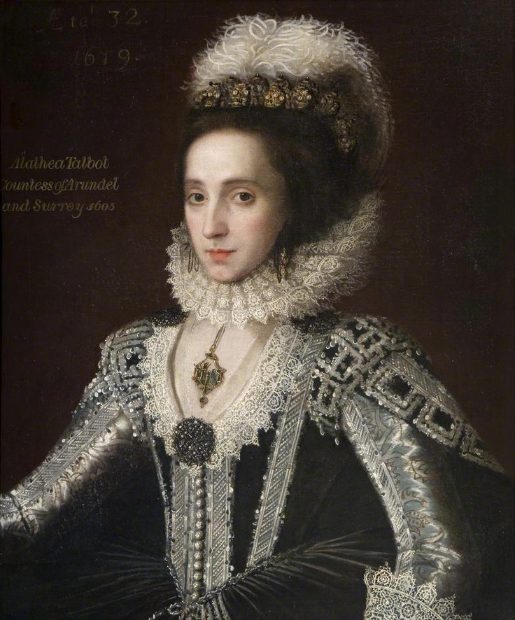 Alathea Talbot, countess of Arundel and Surrey, 1605c