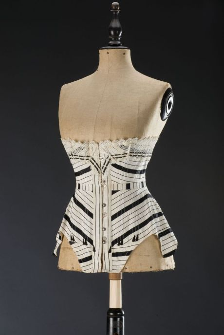 corset, 1905c, museum of decorative arts, Prague