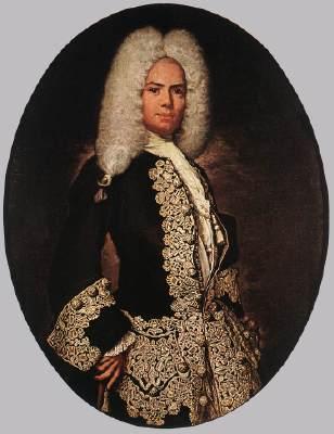 Fra Galgario, gentiluomo 1730c, brera