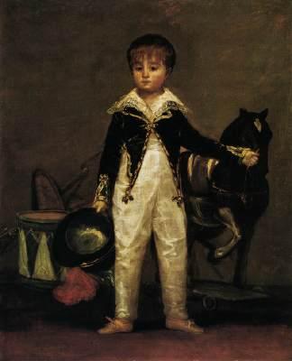 Goya, Pepito Costa y Bonells 1813 met