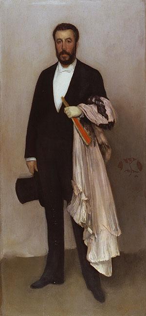 J.McNeill Whistler, Theodore Duret, 1883, Met