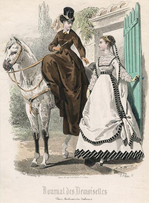 journal des demoiselles, agoust, 1867