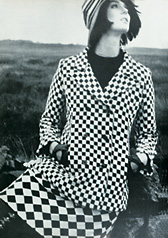 Vogue Foale e Tuffin,wool suit,1964