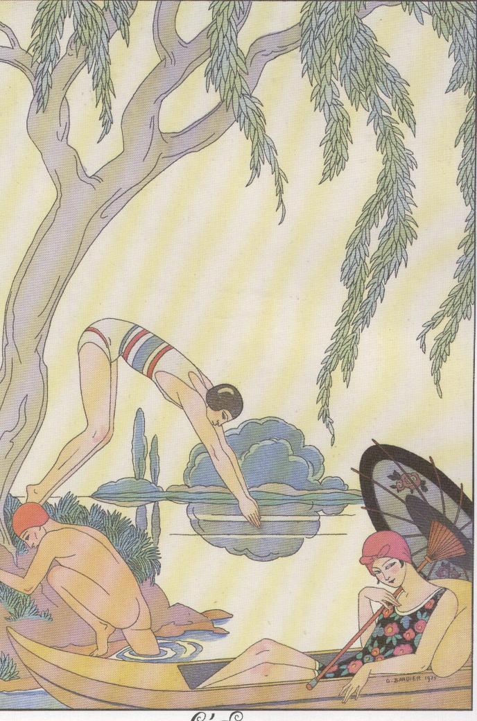 G.Barbier, il bagno, 1925-6