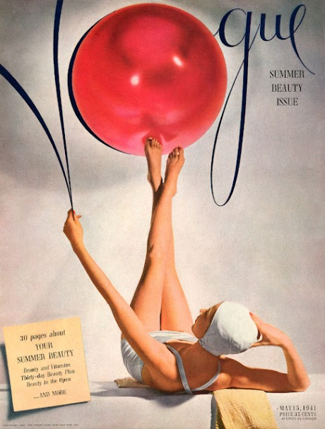 vogue swimwear bathingsuit 1941
