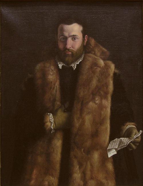 artista lombardo,gentiluomo,1540c,met NY