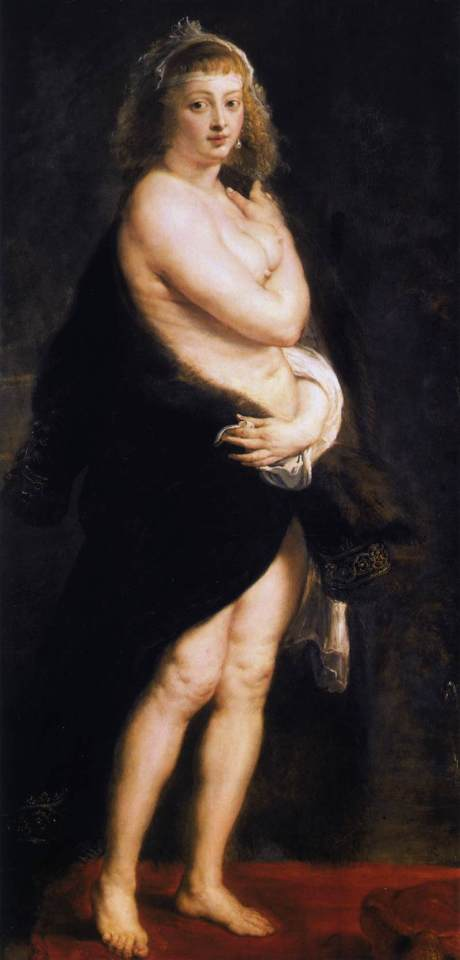 Rubens, The fur, 1630s, Kunst, Vienna