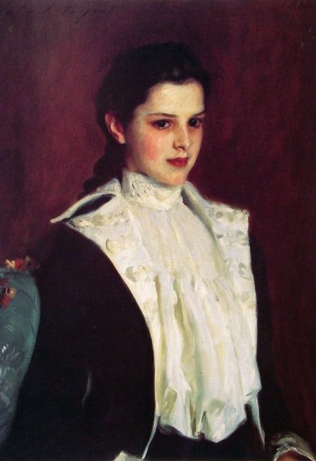 J.Singer Sargent, Alice Vanderbilt Shepard,1888,Amon Carter mus texas
