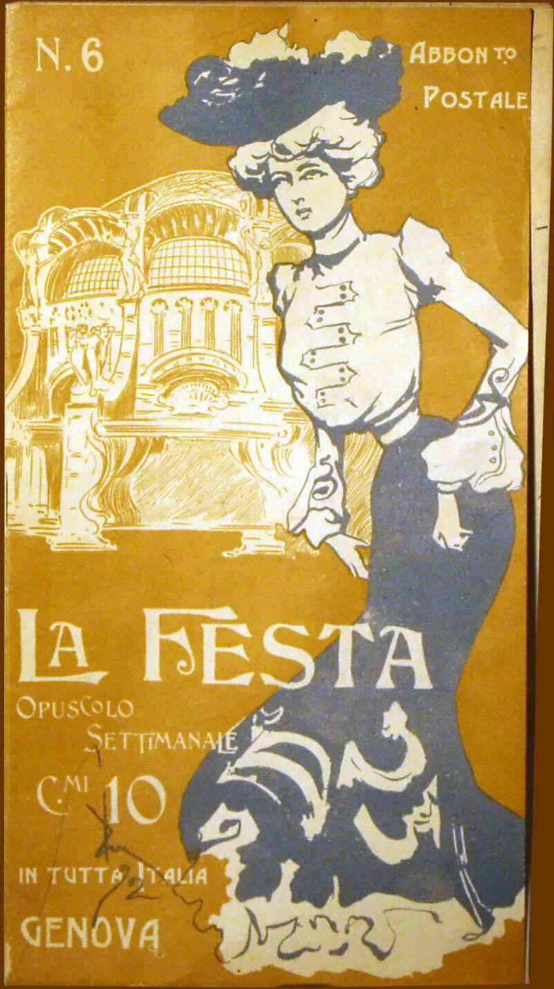 opuscolo settimanale,1902,Fondo Gnecchi