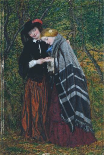 W.Gale, The confidante, 1857, Tate B